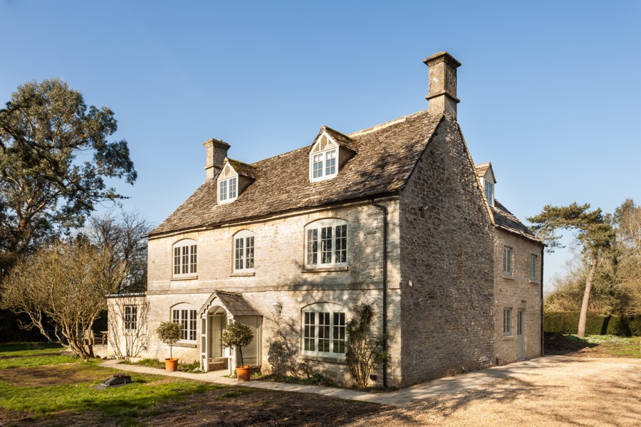 The Vicarage Farmhouse Wiltshire Ms Building And Renovation